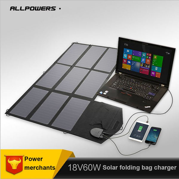 Portable Highly Efficient Foldable and Waterproof Solar Panel Folding solar mobile charger
