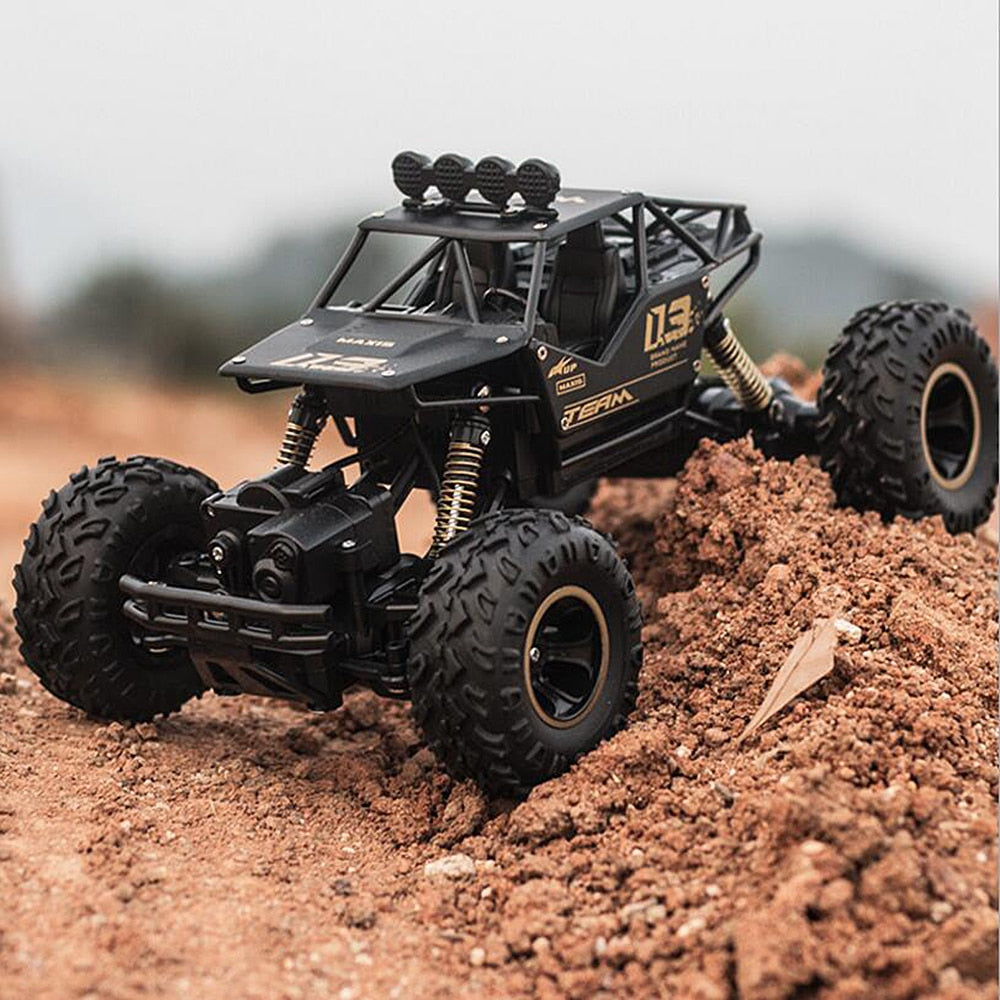 4WD RC Truck Rock Crawlers Double Motors high horsepower Vehicle Toy Remote Control