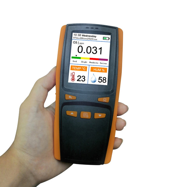 2020 hot ozone analyzer O3 Ozone gas detector intelligent sensor ozone meter for air handheld portable measurement