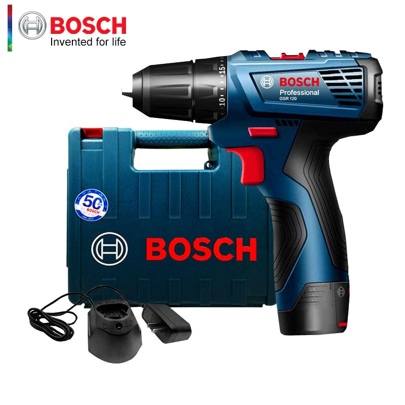 Bosch GSR 120-Li Hand Drill 12V Lithium Drill Household Power Tool Screwdriver