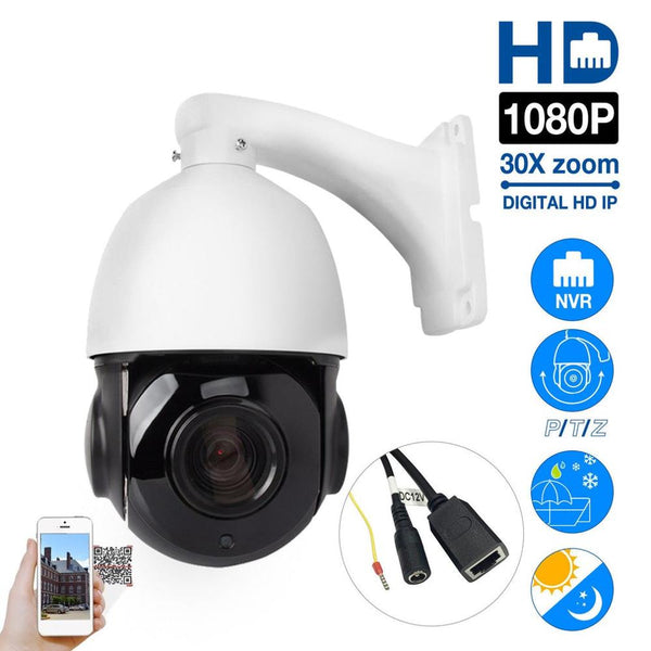 1080P 4MP 5MP PTZ IP Camera Outdoor Onvif 30X ZOOM Waterproof Mini Speed Dome Camera 2MP H.264 IR 50M P2P CCTV Security Camera