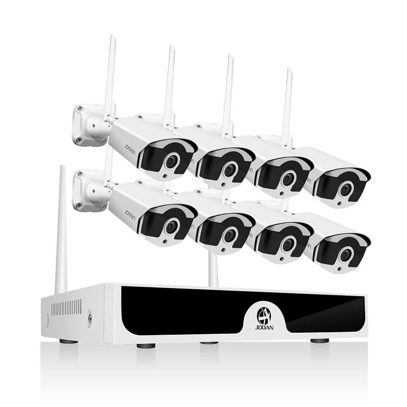 8CH Wireless CCTV System 1080P 1TB 2TB 8pcs 2MP NVR Set IP IR-CUT Outdoor CCTV Camera IP Security System Video Surveillance Kit