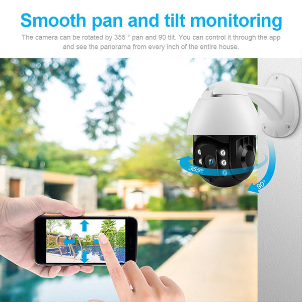 Outdoor PTZ Wireless CCTV 1080P Full HD Ip camera wifi security camera outdoor Action Detection Waterproof Appliance Control