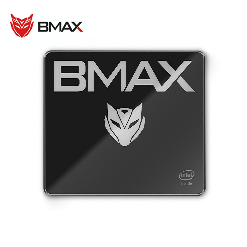 BMAX B2 Mini PC Portable Desktop Mini PC Intel Celeron N3450 8GB LPDDR4 128GB SSD Desktop Mini PC Intel HD Graphics 500 Mini PC