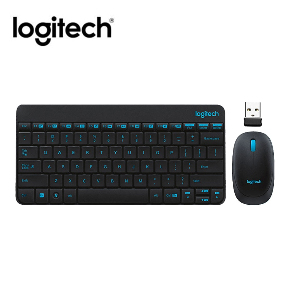 Logitech MK245 USB Nano Wireless Keyboard and Mouse Combo Splashproof Set for Windows Chrome OS Ergonomics Keyboards Mouse Set