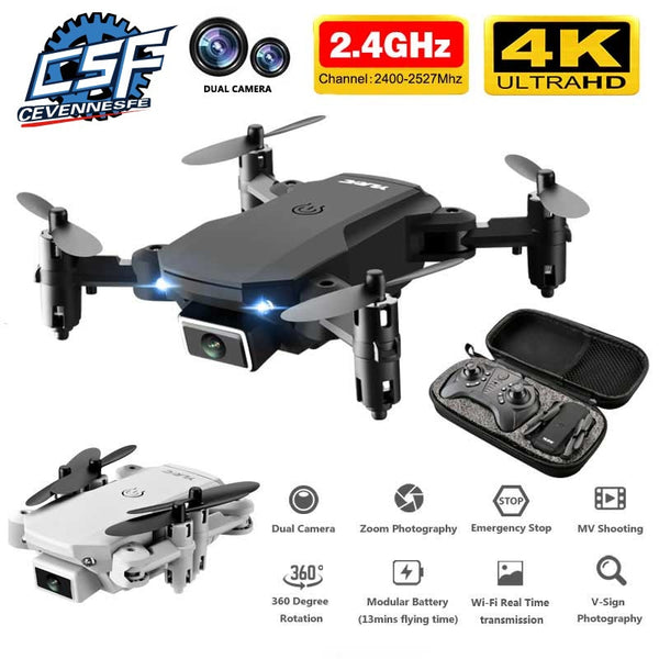 New mini RC 4K HD Camera Drone WiFi 15 Minutes Battery Life Foldable Quadcopter toys