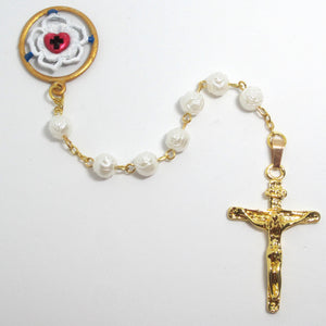 Kelly's Luther Rose Pearlized Chaplet