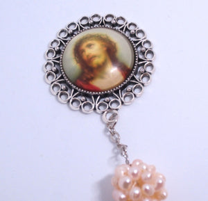 Kelly's Baroque Freshwater Pearl Chaplet