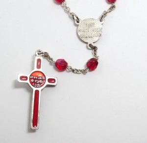 "Kelly's ""Come, Holy Spirit"" Prayer Beads"
