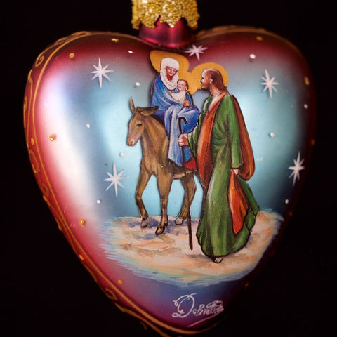 G. DeBrekht Nativity Ball Ornament