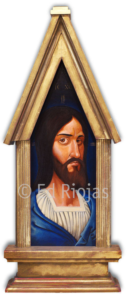 Edward Riojas' Christ Icon