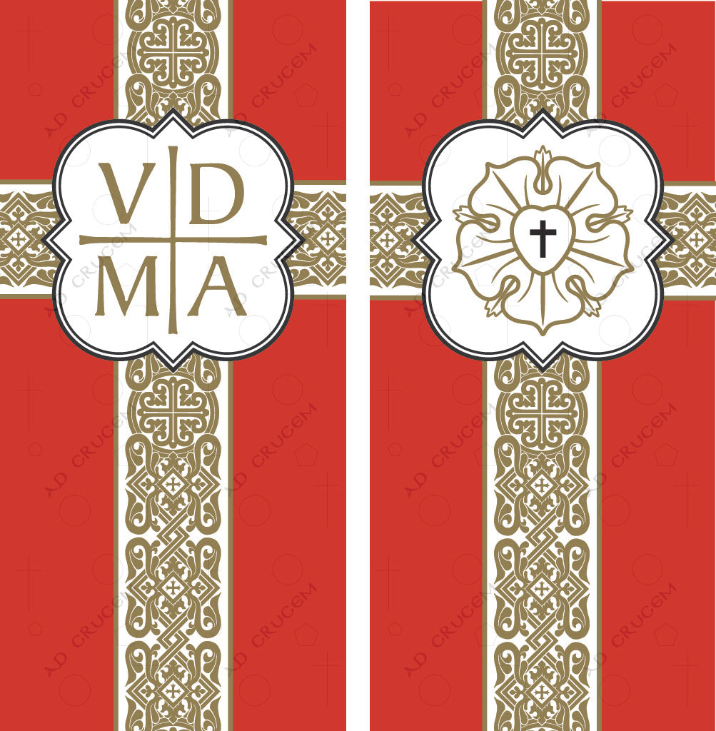 Ad Crucem Reformation Banners Set of Two