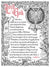 Ad Crucem Personalized Sacristy Prayer Poster