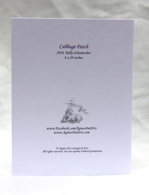 Agnus Dei - Cabbage Patch Cards Isaiah 61:3 - Set of 12 Cards