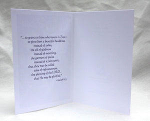 Agnus Dei - Flower Card & Scripture Variety Pack - Set of 12 Cards
