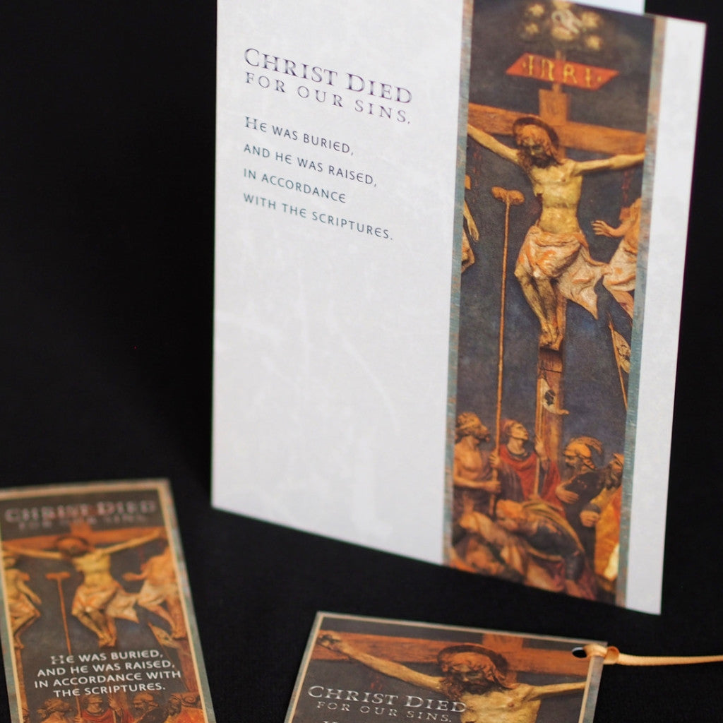 Ad Crucem Easter Card Christ is Risen Indeed!