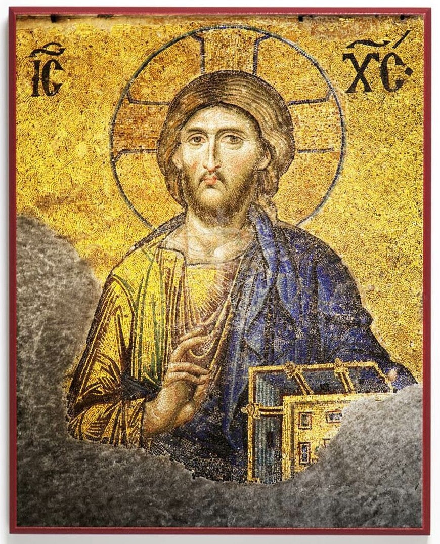 Icon Reproduction - Jesus Christ Pantocrator