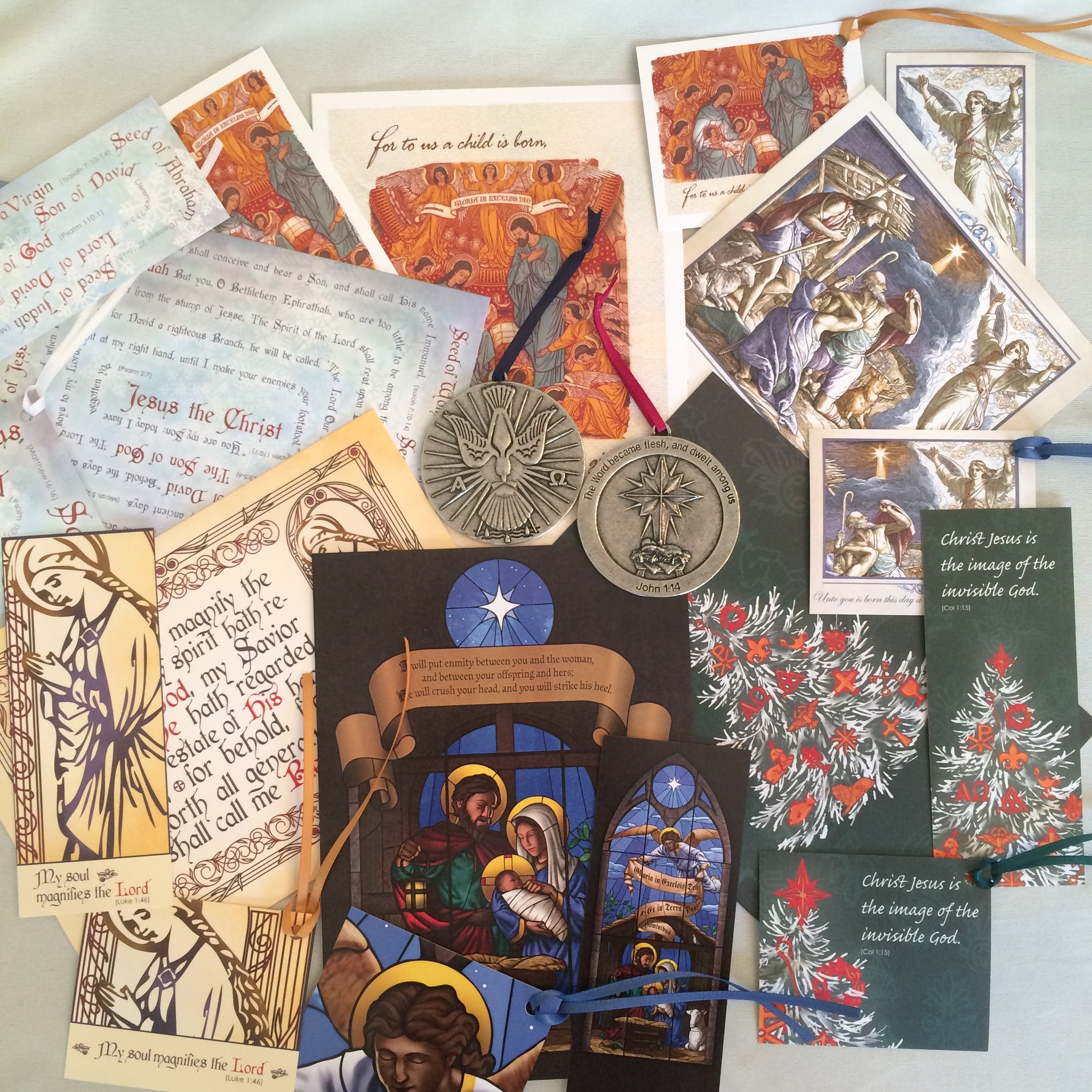 Ad Crucem Christmas Deluxe Sampler (28 Cards & 2 Ornaments) | $ 124.00