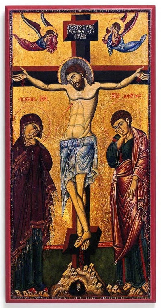 Icon Reproduction - Crucifixion of Christ