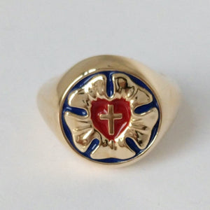 Coffey Augustana Signet Ring
