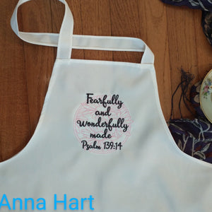 Anna Hart - Fearfully and Wonderfully Made Apron