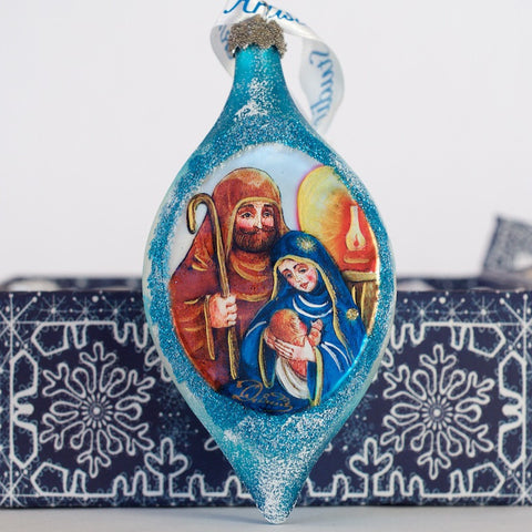 G. DeBrekht Holy Family Drop Ornament