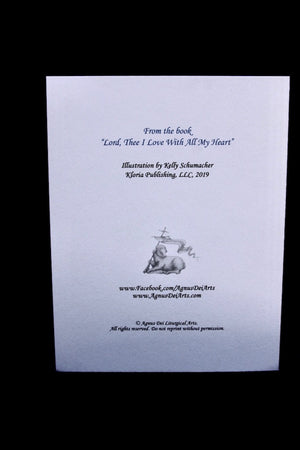 Agnus Dei - Lord Thee I Love - Set of 12 Cards