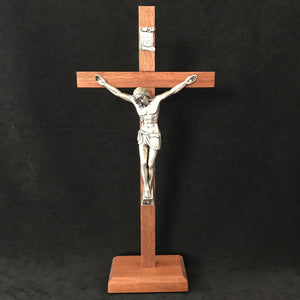 Blue Jay Woodworking Crucifix - Standing