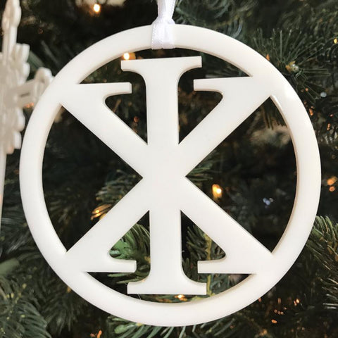 Ad Crucem Christmon - IX Christogram in Circle