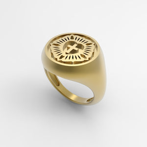 Coffey Luther Seal Ladies Ring