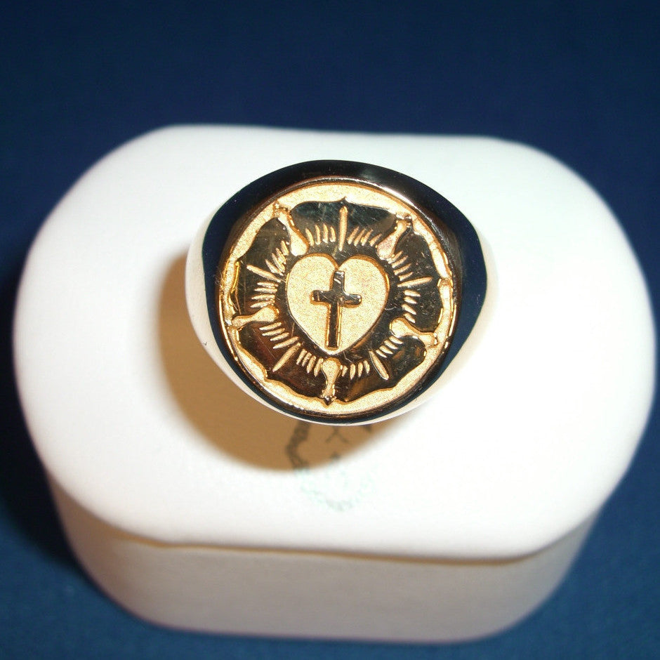 Coffey Luther Seal Signet Ring