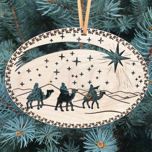 Ad Crucem Wise Men Ornament