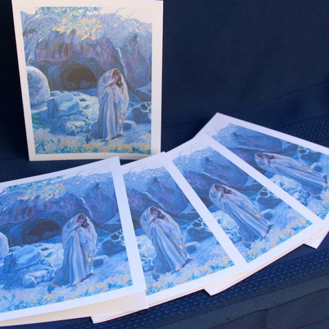 Agnus Dei - My Beloved is Gone Down into His Garden - Set of 12 Cards