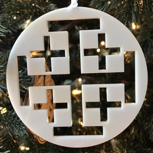 Ad Crucem Christmon - Jerusalem Cross in Circle