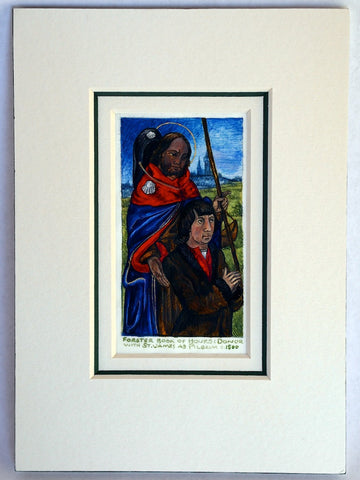 Kandy Vermeer Phillips - Pilgrims on Vellum