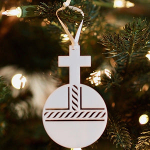 Ad Crucem Christmon - Cross and Orb