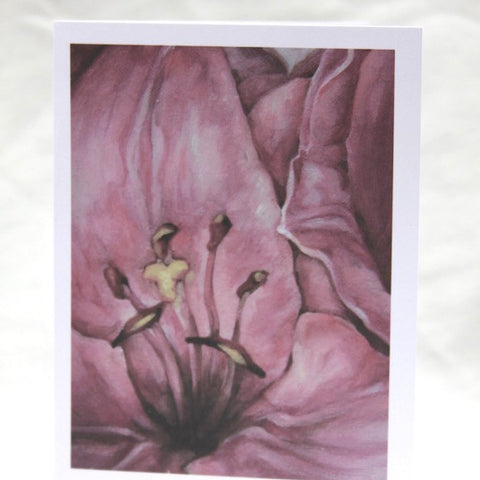 Agnus Dei - Pink Lily Cards - Set of 12 Cards