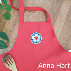 Anna Hart - Luther Rose on Red Apron