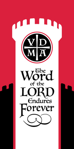 Scapegoat Studio - Reformation Banner - The Word of the Lord Endures Forever
