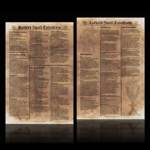 Brandon's Luther's Small Catechism Posters