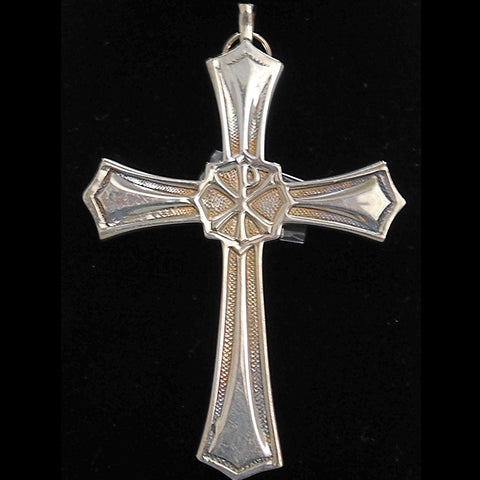 A Pastor Coffey ChiRho Pectoral Cross
