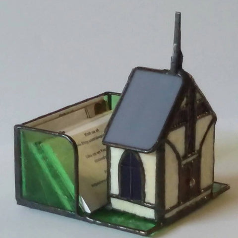 Mini Stained Glass Church