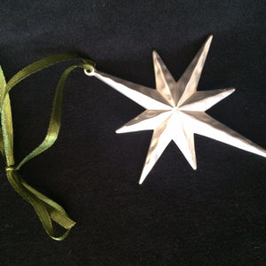 Star of Bethlehem Christmas Ornament
