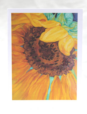 Agnus Dei - Sunflower Cards Psalm 91:4 - Set of 12 Cards