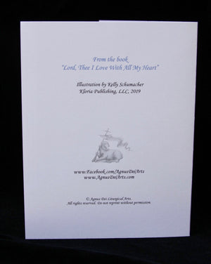 Agnus Dei - Lord Thee I Love, The Door - Set of 12 Cards