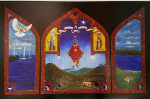 Pr. Scott Bryte Word and Sacrament Triptych