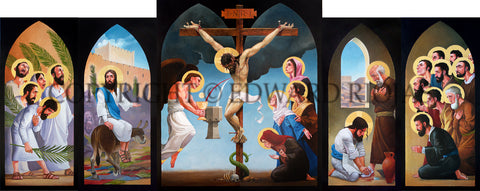 Ed Riojas' Zion Altarpiece: Holy Week