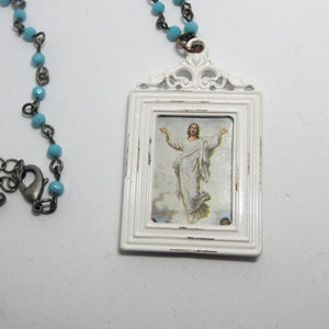 Kelly's Framed Ascension Pendant