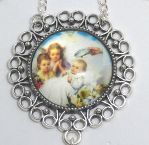 Kelly's Baptism Scene Ornament Gift Bundle