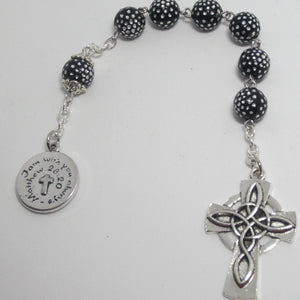 Kelly's Black Celtic prayer chaplet